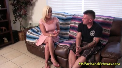 Mommy Checks out ALL her Stepdaughter's Boyfriends FIRST!