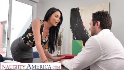 Anissa Kate Fucks the Car Salesman to get a better Deal!!!!