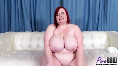 Behind the Scenes Interview with Busty BBW Asstyn Martyn