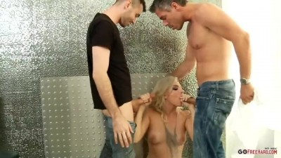 Mick Blue and James Deen do Dahlia Sky