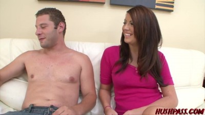 Shy Skyla Paige has her first Encounter with Whitezilla