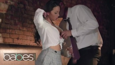 Big Tit Bad Schoolgirl Abigail Mac Seduces her Big Dick Professor