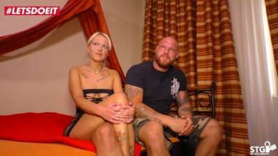 German Tattooed Milf Fucked Hard