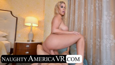Bridgette B. Seduces Neighbor while Showering