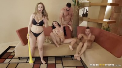 BRAZZERS HOUSE SEASON 3 EP2 Lena Paul Hosts
