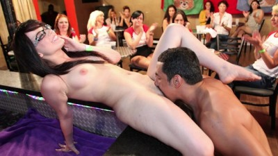 Group Of Horny Women Taking Dick From Male Strippers