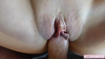 Cant last in her Tight Creamy Pussy - Creampie
