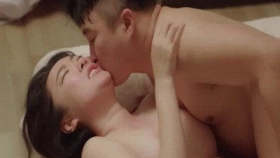 Busty Girlfriend - Korean Movie Sex Scene 1