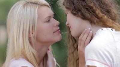 Izzy Delphine Shows Heidi Romanova how Sensual Lesbian Sex can Be.