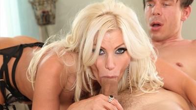 Busty Blonde Bombshell Brittany Andrews Fucked Hard