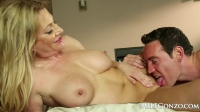 Hot Blonde Jennifer best Fucking her Step Son