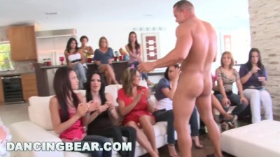 Insane Bachelorette Party Ends Up With CFNM Orgy