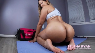 Thick Latina Booty Workout: Ass Worship JOI
