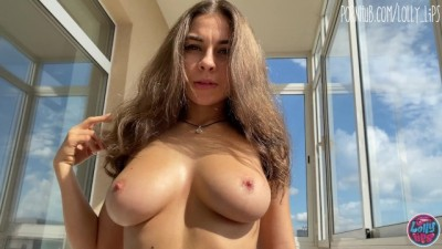 Young with Super Hot Perfect Body Helps me Cum