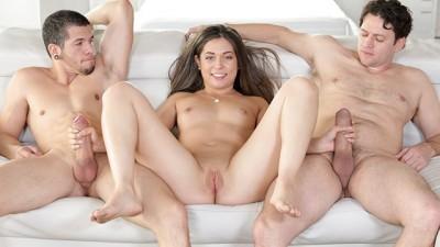 Shane Blair tries her first Threesome