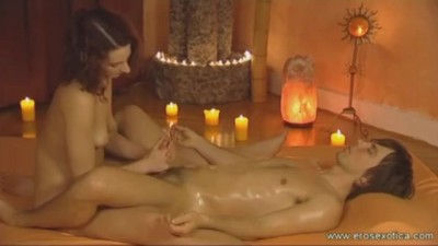 Ecstatic and Relaxing Lingam Massage - Youfreeporn