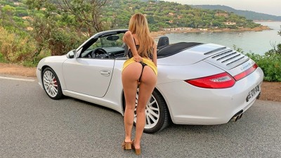 I Fuck my Step-Sister in a Porsche in St-Tropez