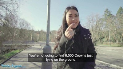 Asian Teen Alina Crystall Fucks Stranger for Cash