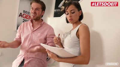 Czech Young Anabell Fucked Hard on the Casting Couch