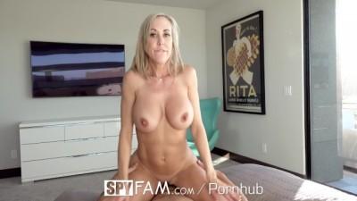 Big Tit Step Mom Brandi Love Fucks Gamer Stepson