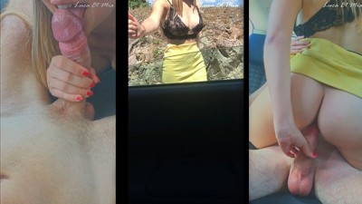 Jeune Autostoppeuse Sexy Prend un Creampie Sur Snapchat