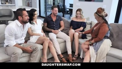 Daughters Swap Fucking Daddies Compilation