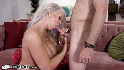 Smokin' Hot MILF Alura Jenson Dreams of her Stepson Fucking her Ass
