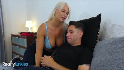 Busty London River Fucking Brad Knight Dick