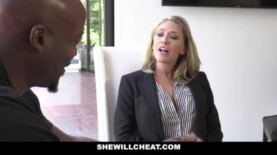Horny Real Estate Agent Fucks BBC