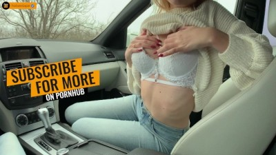 RETIRED WITH a GF IN THE WOODS. BLOWJOB IN THE CAR