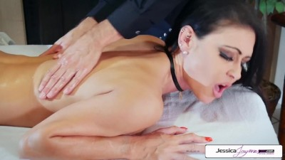 Jessica Jaymes take Brad's Huge Cock and get Ponded like a little Slut