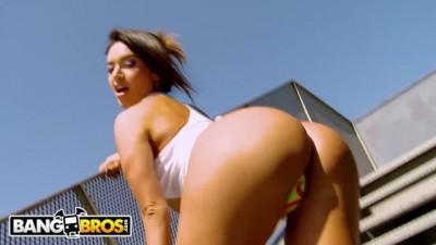 Curvy Colombian Goddess Franceska Jaimes getting her Big Butt Banged