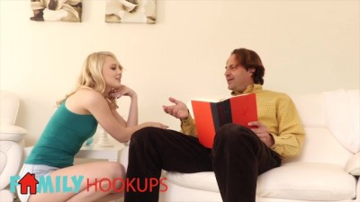 Lily Rader has her Hole Stretched by her Step-Uncles Big Fat Dick