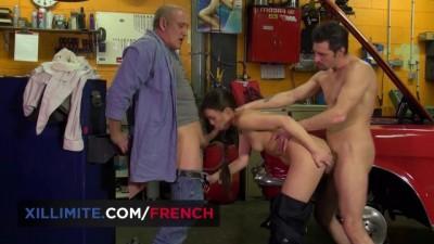 Tiffany Doll, the Mechanic Sexy Girl, Hardcore Threesome