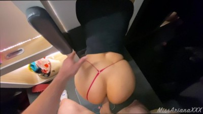 BIG ASS YOUNG ALMOST CAUGHT FUCKING AT THE MALL